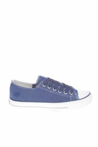 Дамски обувки Dockers by Gerli, Размер 37, Цвят Син, Текстил, Цена 19,45лв.