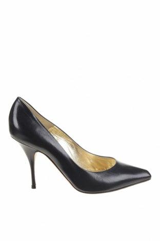 Дамски обувки Escada, Размер 40, Цвят Син, Естествена кожа, Цена 208,50лв.