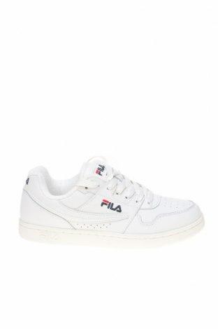 Дамски обувки Fila, Размер 40, Цвят Бял, Естествена кожа, еко кожа, Цена 56,62лв.