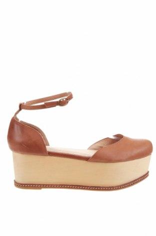 Дамски обувки Jeffrey Campbell, Размер 40, Цвят Кафяв, Естествена кожа, Цена 46,80лв.