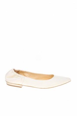 Дамски обувки Jil Sander, Размер 41, Цвят Бял, Естествена кожа, Цена 248,70лв.