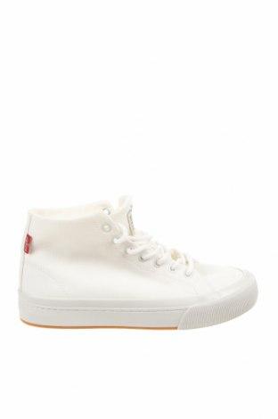 Дамски обувки Levi's, Размер 38, Цвят Екрю, Текстил, Цена 96,75лв.