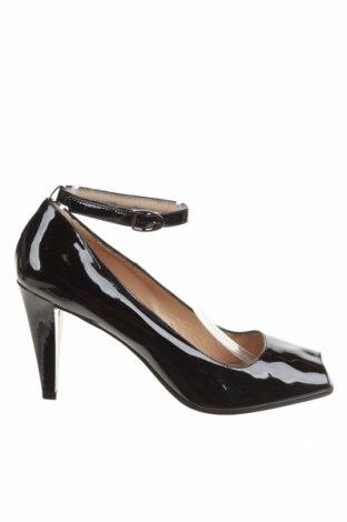 Дамски обувки Max&Co., Размер 40, Цвят Черен, Естествена кожа, Цена 94,24лв.