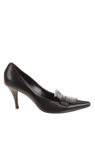 Дамски обувки Moreschi, Размер 38, Цвят Черен, Естествена кожа, Цена 99,18лв.