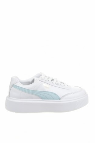 Дамски обувки PUMA, Размер 36, Цвят Бял, Естествена кожа, еко кожа, Цена 134,25лв.