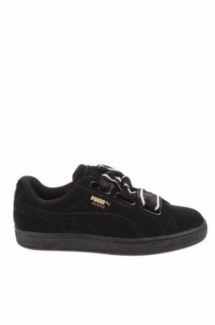 Дамски обувки PUMA, Размер 37, Цвят Черен, Естествен велур, Цена 47,25лв.