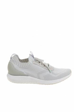 Дамски обувки Tamaris, Размер 38, Цвят Сив, Текстил, полиуретан, Цена 49,50лв.