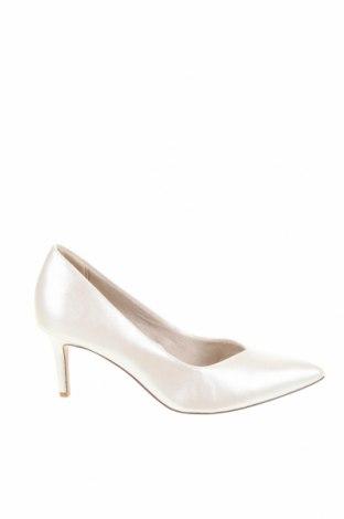 Дамски обувки Tamaris, Размер 38, Цвят Екрю, Еко кожа, Цена 45,82лв.