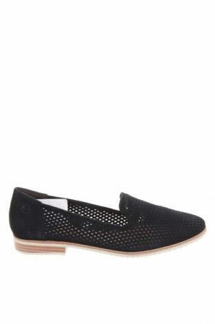 Дамски обувки Tamaris, Размер 40, Цвят Син, Естествен велур, Цена 69,02лв.