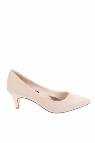 Дамски обувки Tamaris, Размер 38, Цвят Бежов, Текстил, Цена 27,90лв.