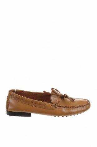Дамски обувки Tod's, Размер 39, Цвят Кафяв, Естествена кожа, Цена 94,24лв.