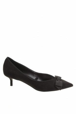 Дамски обувки Zara, Размер 38, Цвят Черен, Текстил, Цена 53,40лв.