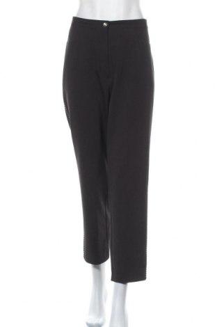 Дамски панталон, Размер XL, Цвят Черен, 92% полиестер, 8% еластан, Цена 7,61лв.