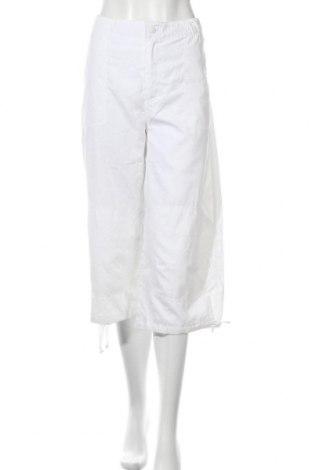 Дамски панталон Body Action, Размер XL, Цвят Бял, 60% полиестер, 40% полиамид, Цена 7,81лв.