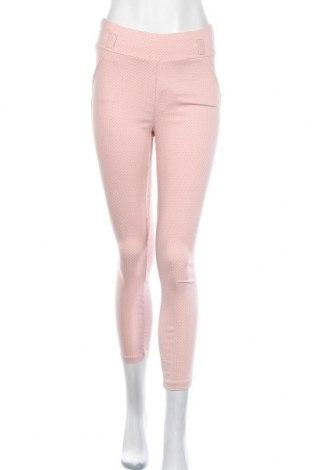 Дамски панталон, Размер S, Цвят Розов, 70% вискоза, 25% полиамид, 5% еластан, Цена 6,30лв.