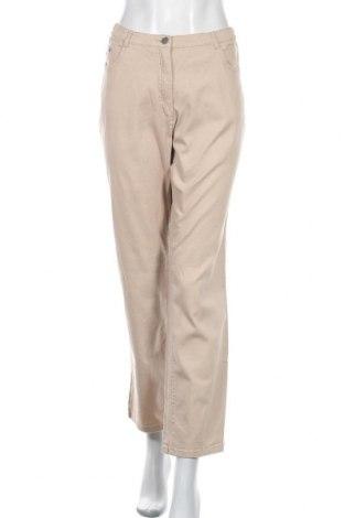 Dámské kalhoty , Velikost XL, Barva Béžová, 97% bavlna, 3% elastan, Cena  333,00Kč
