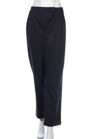 Дамски панталон 4th & Reckless, Размер XXL, Цвят Син, 79% полиестер, 19% вискоза, 2% еластан, Цена 34,50лв.