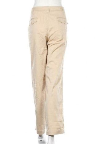 Дамски панталон Ajc, Размер XXL, Цвят Бежов, 97% памук, 3% еластан, Цена 44,25лв.