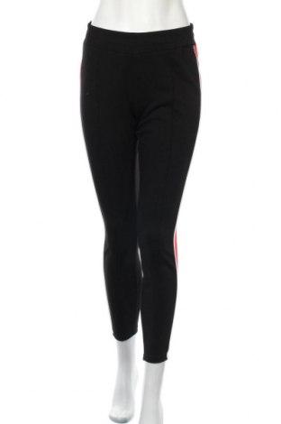 Дамски панталон Amisu, Размер S, Цвят Черен, 95% полиестер, 5% еластан, Цена 6,93лв.