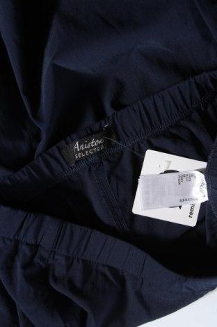Дамски панталон Aniston, Размер M, Цвят Син, 70% памук, 26% полиестер, 4% еластан, Цена 13,09лв.
