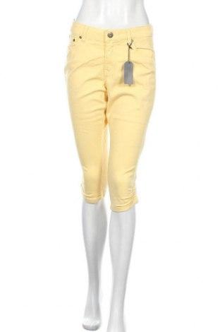 Дамски панталон Arizona, Размер M, Цвят Жълт, 98% памук, 2% еластан, Цена 21,82лв.