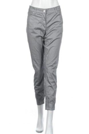 Дамски панталон Ashley Brooke, Размер L, Цвят Сив, 97% памук, 3% еластан, Цена 11,34лв.
