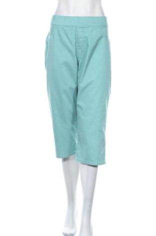 Дамски панталон Avella, Размер XXL, Цвят Син, Памук, полиестер, еластан, Цена 11,63лв.