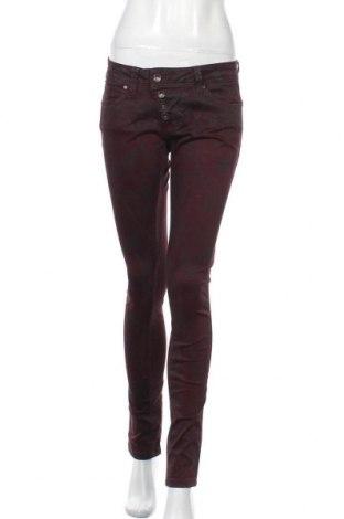 Dámské kalhoty  Buena Vista, Velikost M, Barva Červená, 98% bavlna, 2% elastan, Cena  393,00Kč
