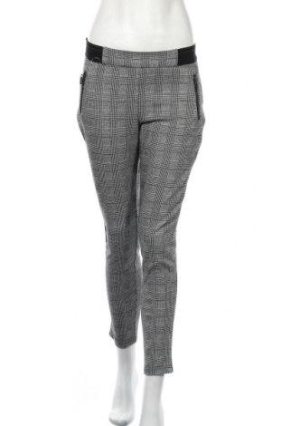 Дамски панталон Canda, Размер M, Цвят Черен, 69% полиестер, 28% вискоза, 3% еластан, Цена 7,61лв.