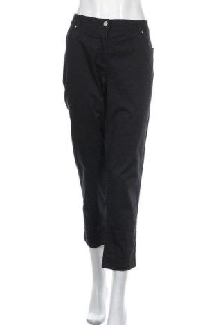 Дамски панталон Canda, Размер L, Цвят Черен, 98% памук, 2% еластан, Цена 11,34лв.