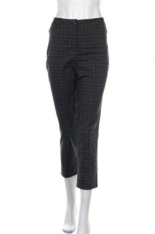 Дамски панталон Canda, Размер M, Цвят Сив, 63% полиестер, 34% вискоза, 3% еластан, Цена 6,83лв.