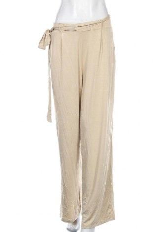 Дамски панталон Capsule, Размер L, Цвят Бежов, 95% вискоза, 5% еластан, Цена 16,70лв.