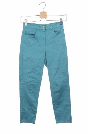 Дамски панталон Caroll, Размер XS, Цвят Син, 95% памук, 5% еластан, Цена 11,03лв.