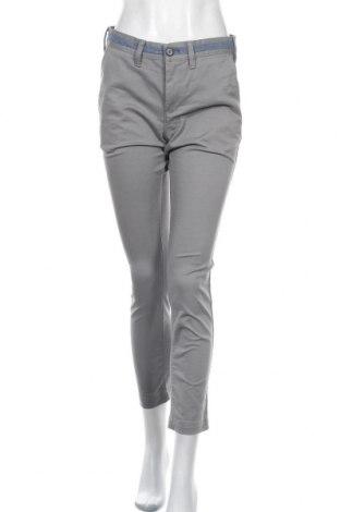 Дамски панталон Express, Размер M, Цвят Сив, 69% памук, 28% полиестер, 3% еластан, Цена 6,83лв.