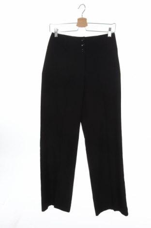 Дамски панталон Esprit, Размер XS, Цвят Черен, 65% полиестер, 32% вискоза, 3% еластан, Цена 6,56лв.