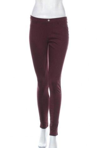 Дамски панталон Essentials by Tchibo, Размер S, Цвят Червен, 58% памук, 32% полиестер, 10% еластан, Цена 9,24лв.