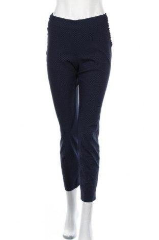 Dámské kalhoty  Essentials by Tchibo, Velikost L, Barva Modrá, 77% viskóza, 20% polyamide, 3% elastan, Cena  333,00Kč