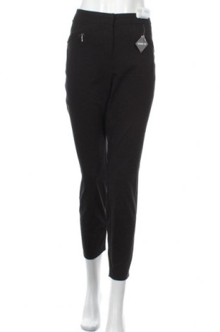 Дамски панталон Evans, Размер XL, Цвят Черен, 74% вискоза, 23% полиамид, 3% еластан, Цена 18,13лв.