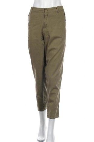 Dámské kalhoty  Faded Glory, Velikost XXL, Barva Zelená, 98% bavlna, 2% elastan, Cena  393,00Kč