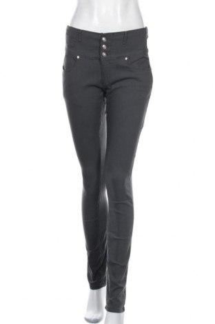 Дамски панталон Floyd By Smith, Размер M, Цвят Сив, 70% памук, 23% полиестер, 7% еластан, Цена 19,11лв.