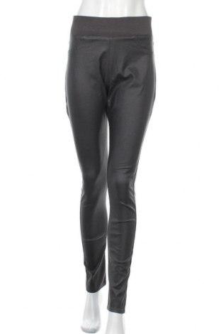 Дамски панталон Free Quent, Размер L, Цвят Сив, 76% вискоза, 21% полиамид, 3% еластан, Цена 22,68лв.