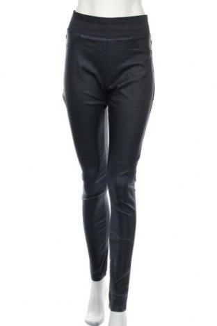 Дамски панталон Free Quent, Размер L, Цвят Син, 76% вискоза, 21% полиамид, 3% еластан, Цена 22,68лв.