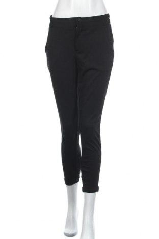 Дамски панталон Free Quent, Размер S, Цвят Черен, 73% полиестер, 24% вискоза, 3% еластан, Цена 34,22лв.