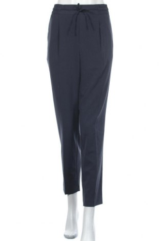 Дамски панталон Free Quent, Размер L, Цвят Син, 64% полиестер, 32% вискоза, 4% еластан, Цена 40,02лв.