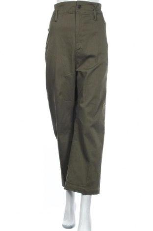 Pantaloni de femei G-Star Raw, Mărime L, Culoare Verde, 50% bumbac, 50% poliester, Preț 196,38 Lei