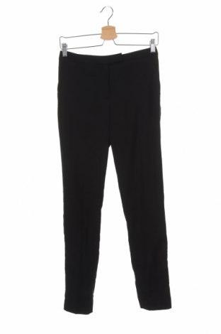 Дамски панталон H&M, Размер XS, Цвят Черен, 63% полиестер, 35% вискоза, 2% еластан, Цена 6,93лв.