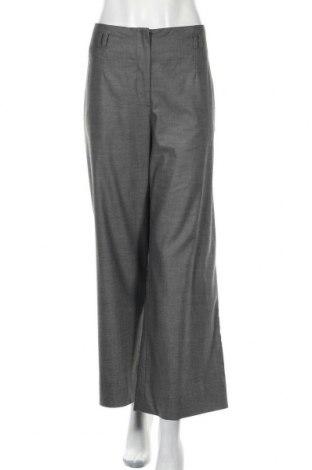 Дамски панталон H&M, Размер L, Цвят Сив, 66% полиестер, 32% вискоза, 2% еластан, Цена 7,35лв.