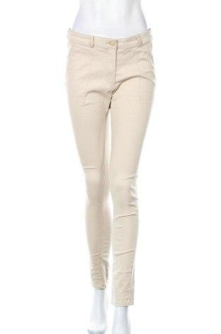 Dámské kalhoty  H&M, Velikost M, Barva Béžová, 98% bavlna, 2% elastan, Cena  333,00Kč
