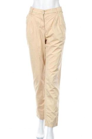 Dámské kalhoty  H&M, Velikost XL, Barva Béžová, Bavlna, Cena  393,00Kč