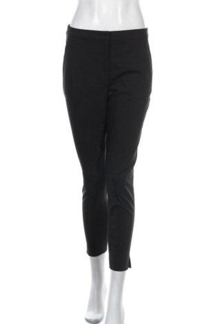 Dámské kalhoty  H&M, Velikost S, Barva Černá, 61% bavlna, 34% polyester, 5% elastan, Cena  393,00Kč